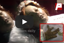 A preserved body of a Martyr opened her eyes and was caught in the camera! Check this out!
