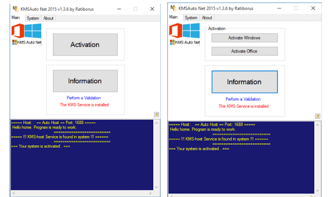 KMS AutoNet 2015 windows and Office Activator