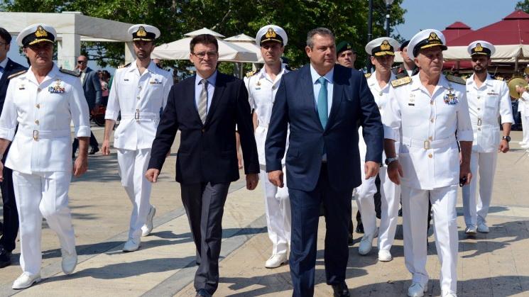 Πλοίο του Πολεμικού Ναυτικού ζητά ο Πέτροβιτς για τη Σαμοθράκη