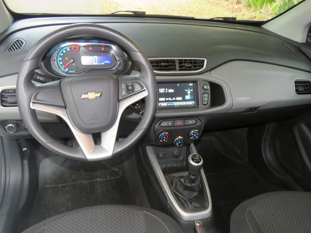 Chevrolet Onix LT 2018 - interior - painel