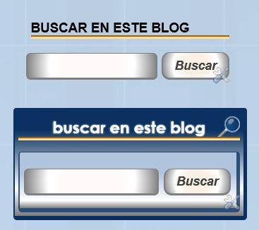 Nuevo gadget de Búsqueda de blogs y gadget Cuadro de búsqueda