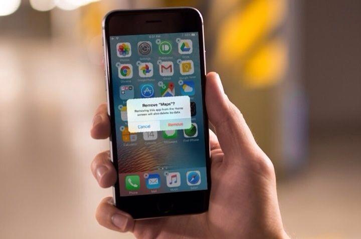 Cara Hapus Aplikasi Bawaan iPhone
