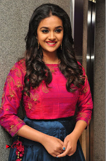 Actress Keerthi Suresh Stills at Remo Success Meet  0033.JPG