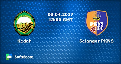 Live Streaming Kedah vs PKNS FC 8 April 2017 Liga Super