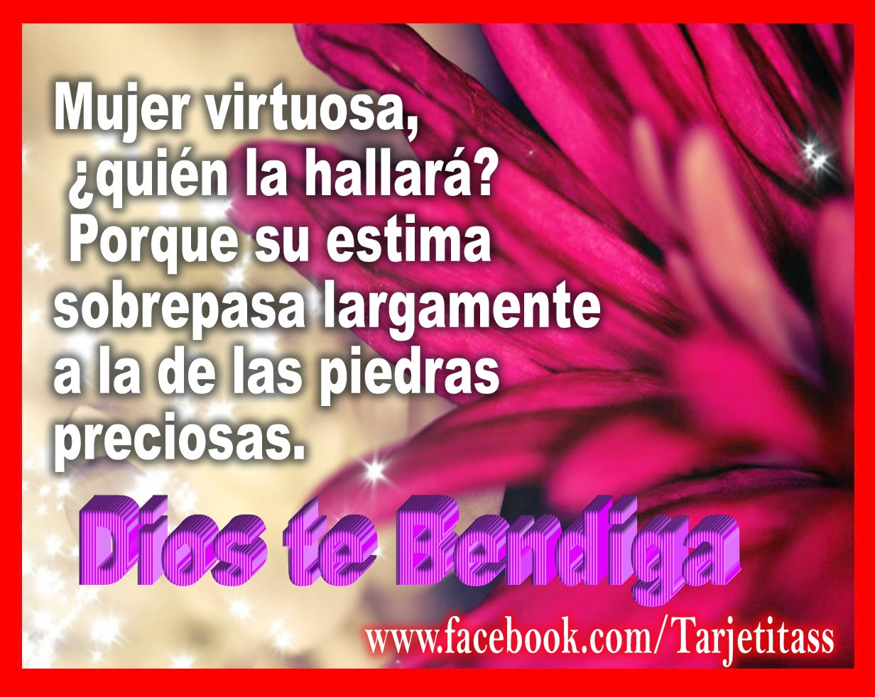 Mujer Virtuosa Frases Images Free Download