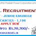 UPPCL Recruitment 2017 For 1,196 Vacancies Junior Engineers Posts