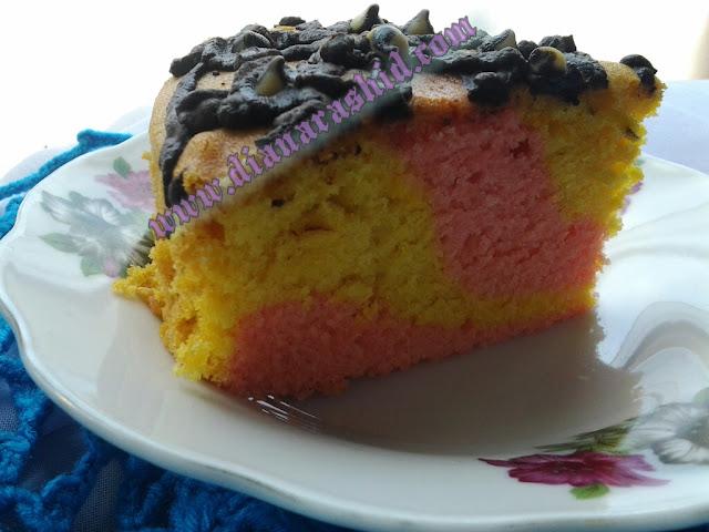 resepi kek majerin mudah  sedap senyum senyum Resepi Kek Guna Gelatin Enak dan Mudah