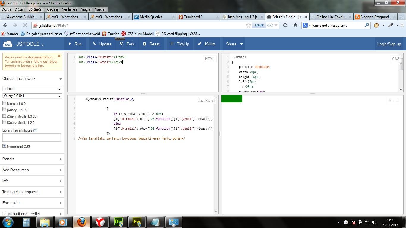 Programlama ve Grafik Tasarıma Dair Herşey   : Jquery Window