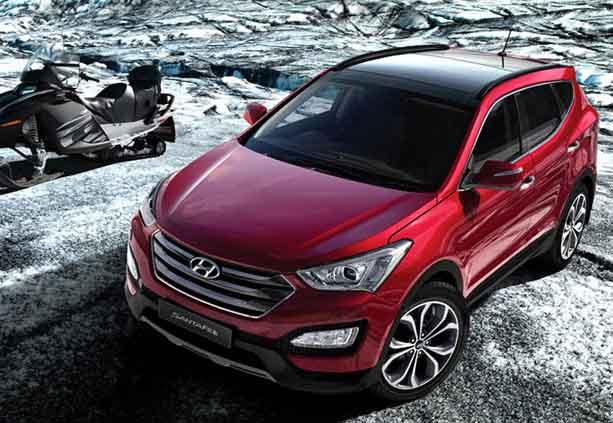 desain eksterior Hyundai Santa FE CRDI 4x4