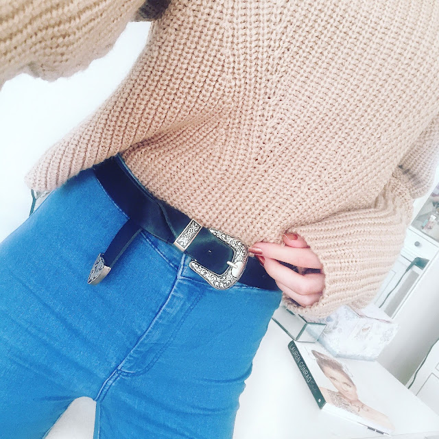 chunky knitwear topshop joni jeans