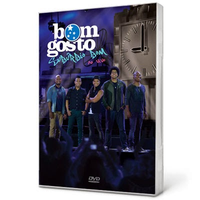 DVD Bom Gosto - Subúrbio Bom - AVI - DVD-R (2013)