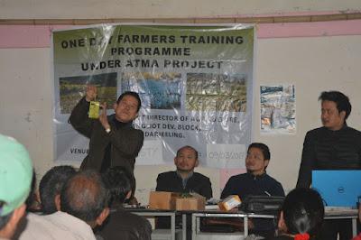 Farmer training labdah busty