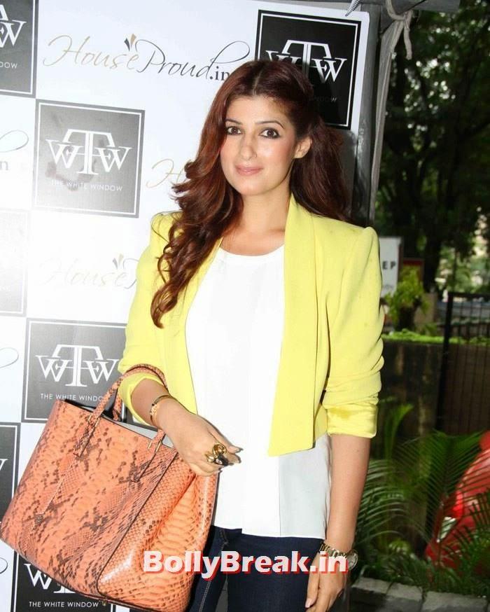 Twinkle Khanna, Twinkle Khanna at Sanvari & Anjori Alagh's Pop Up Store Launch
