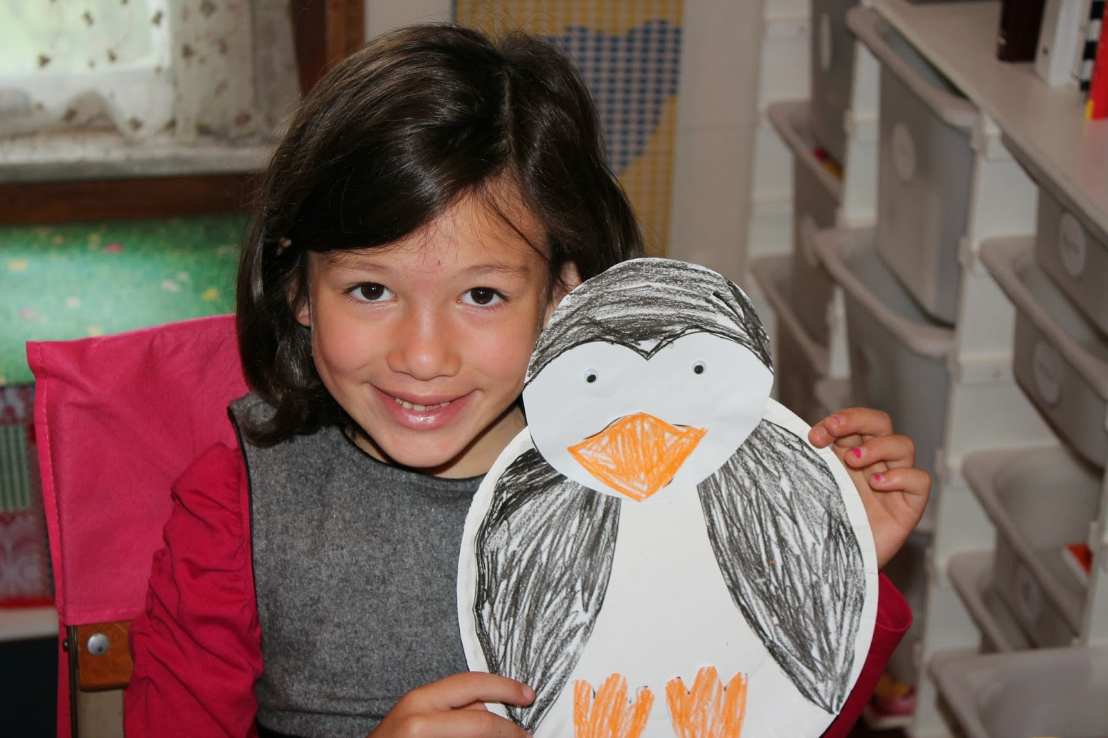 Super Busy At Home Penguin Themed Homeschooling