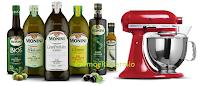 Logo Concorso Olio Monini e vinci 84 forniture e 12 robot KitchenAid