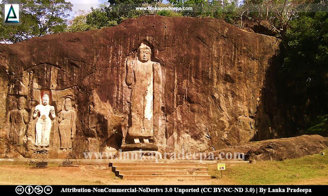Buduruwagala statues, Wellawaya, Sri Lanka
