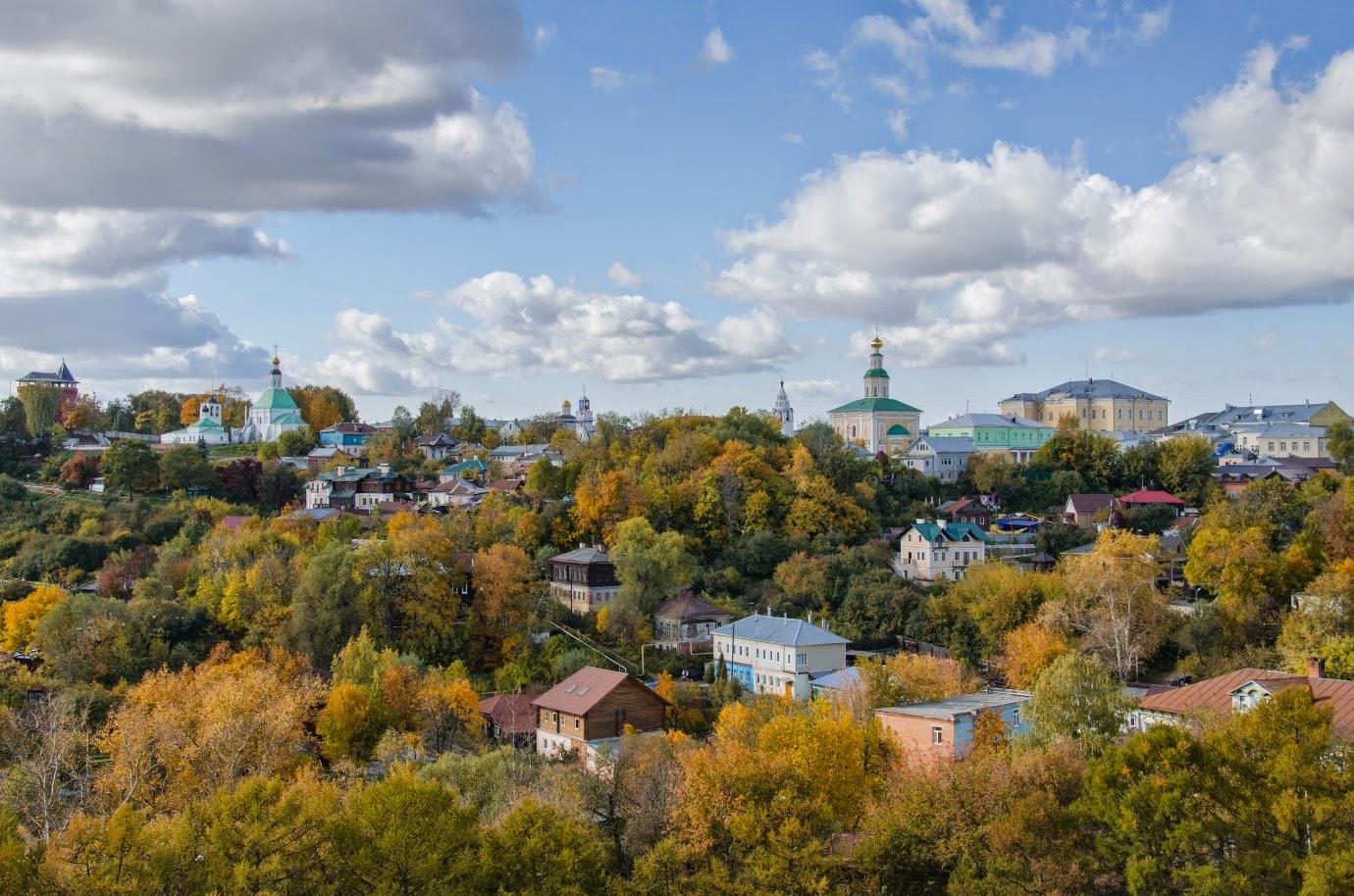 Вид на Владимир с холма