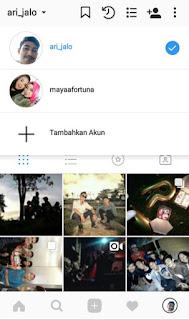 Cara Menambahkan Akun atau Multi Akun di Instagram Android