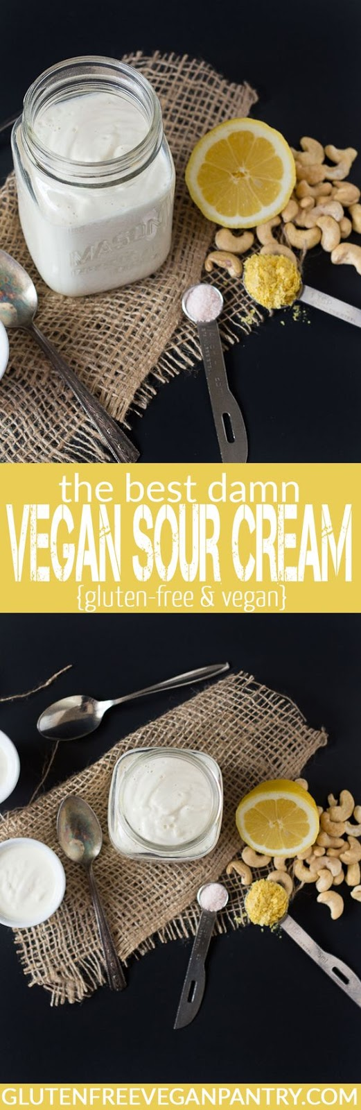 THE BEST DAMN VEGAN SOUR CREAM