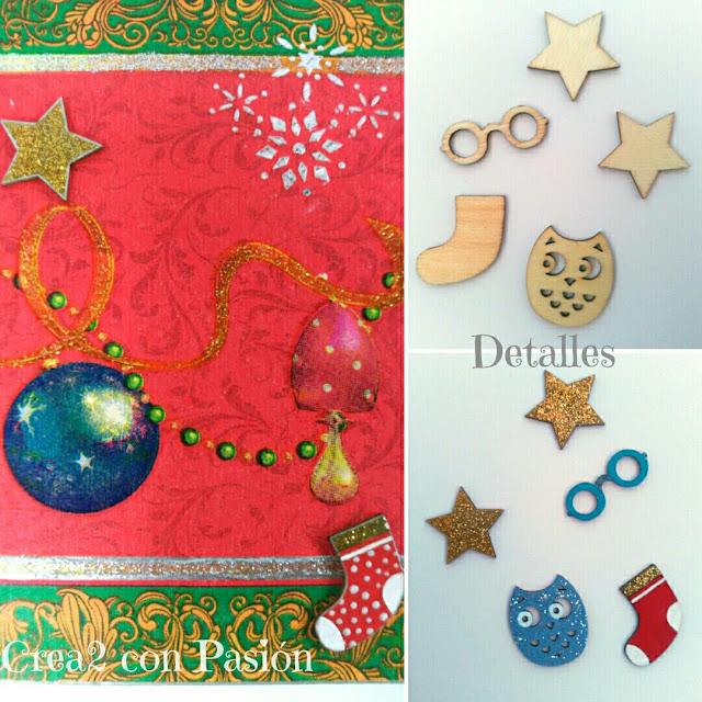 Decoupage-cuadros-navidad-Crea2conPasión