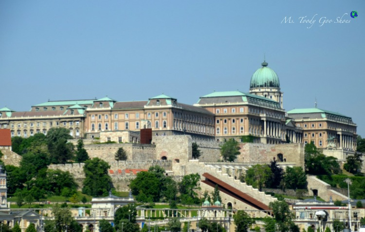 Buda Castle in Budapest  | Ms. Toody Goo Shoes #budapest #danuberivercruise #hungary