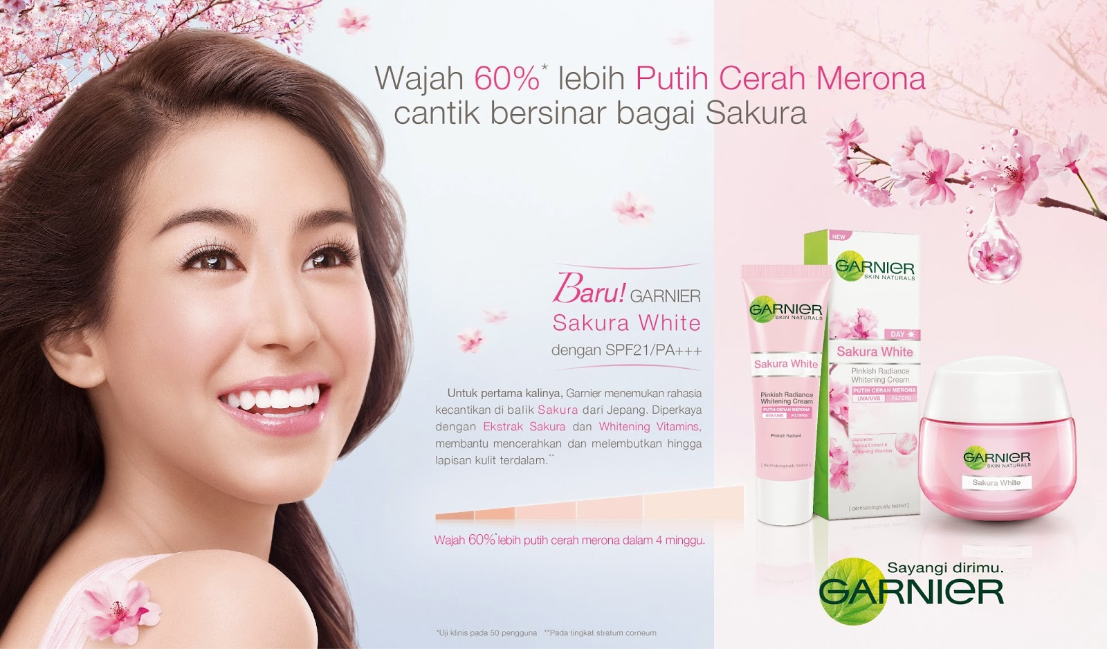 Garnier Sakura White Launch Event