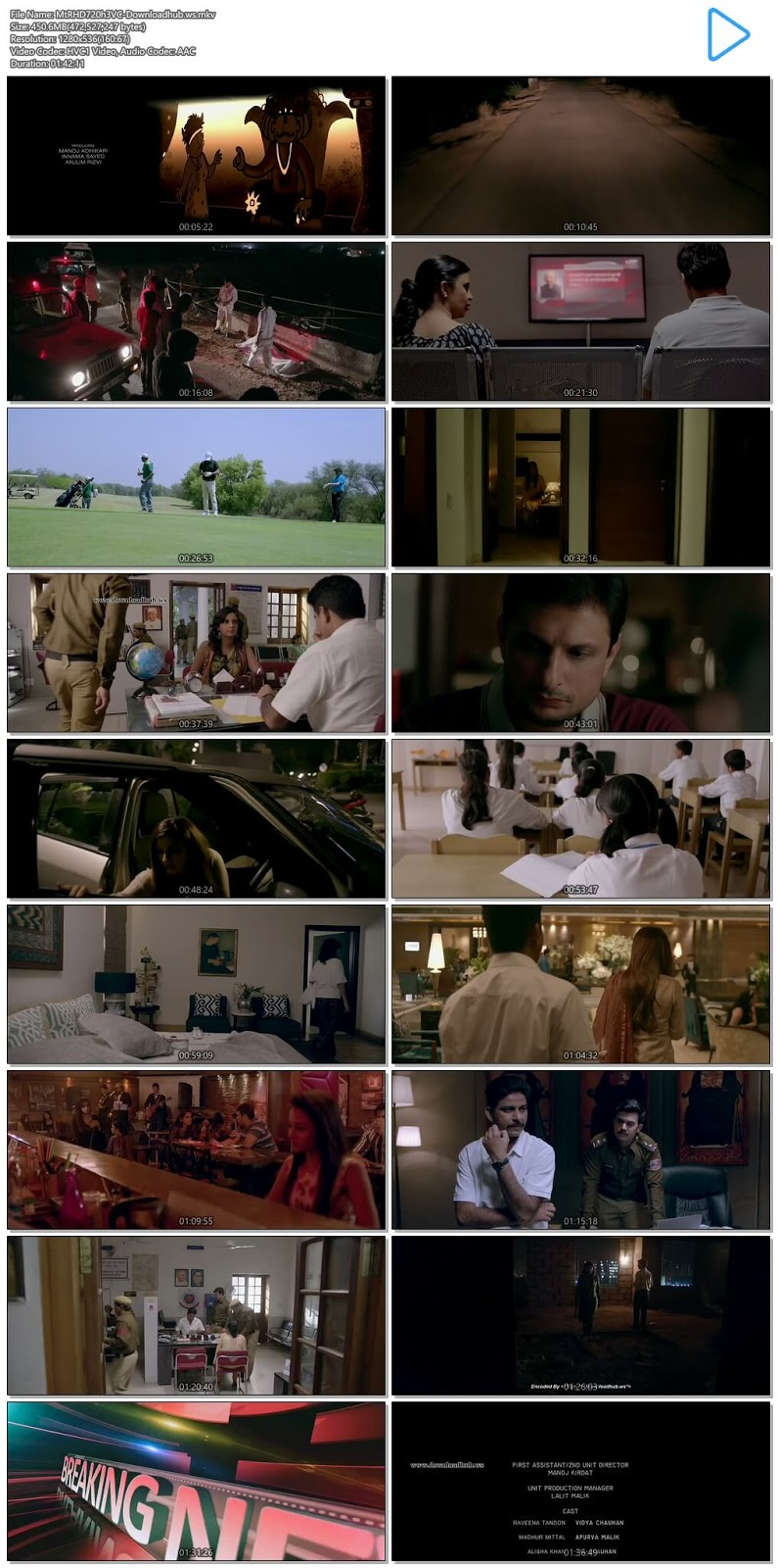 Maatr 2017 Hindi 720p HEVC HDRip