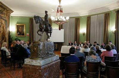 Asamblea general del Real Cuerpo de la Nobleza de Madrid en la Real Gran peña