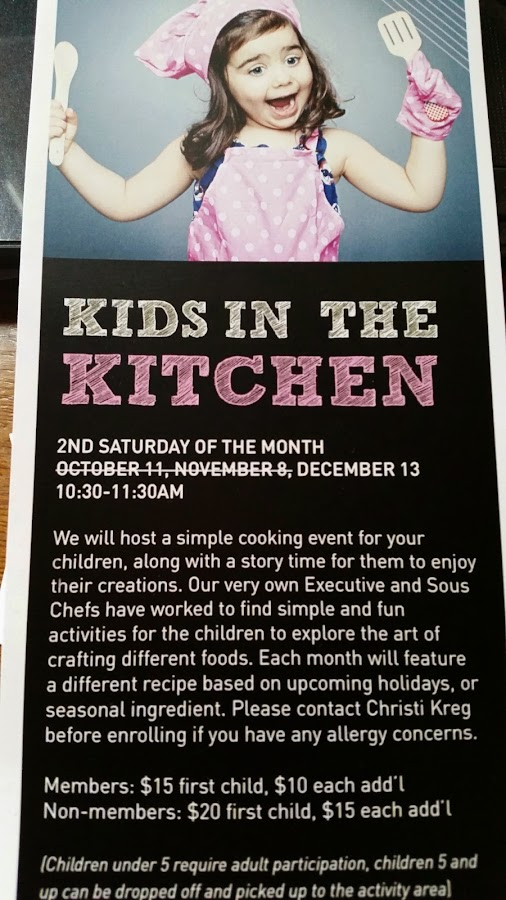 Check out the Fun we had at the Renaissance Club Sport Aliso Viejo - Kids In The Kitchen Event !  #K...