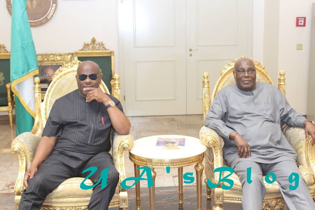 2019: Atiku Meets Wike Over Alleged Resignation From Presidential Campaign Team