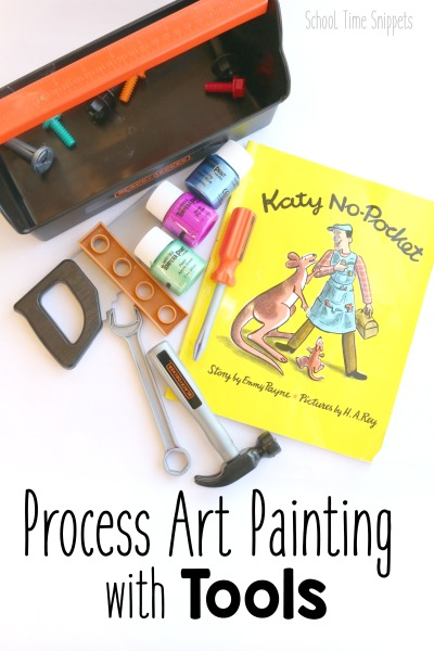 Katy No-Pocket Process Art Go Along with Tools