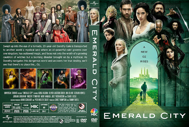 Emerald City Season 1 DVD Cover