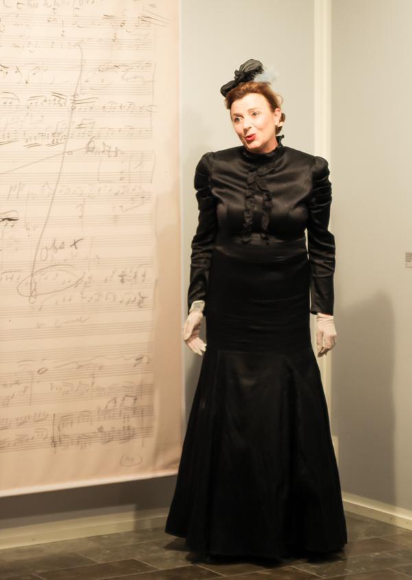PauMau blogi aino Sibelius Järvenpää taidemuseo Jean Sibelius näyttely 2015 juhlavuosi nuotit