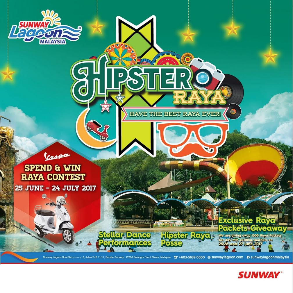 393f8af19 With Hari Raya around the corner, Sunway Lagoon is taking it to the next  level in its trendy Hipster Raya celebration!