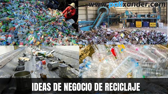 negocio de reciclaje