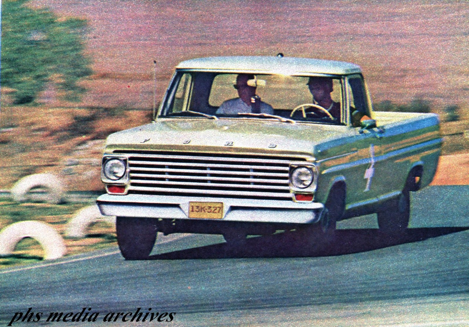 Phscollectorcarworld October 2017 1955 Ford F100 Truck Moon Caps The Toughness Of Was Driven Home Forcefully In A 67000 Mile Test At Riverside Track Known For Disassembling Big Heavy Cars Poorly Built