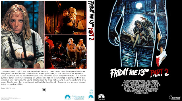 Friday the 13th Part 2 (1981) Bluray Cover