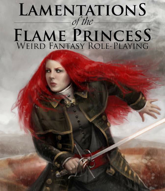 lamentations of the flame princess cover