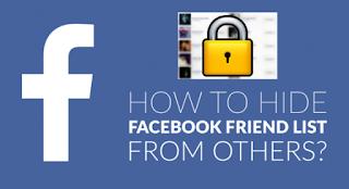 How To Hide Your Facebook Friends List Using A Desktop
