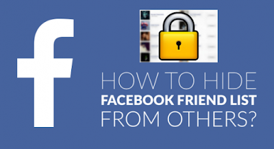 How To Hide Your Facebook Friends List Using A Mobile Phone
