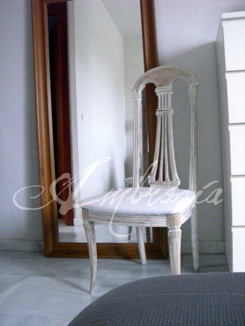 silla estilo gustaviano diy