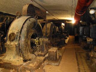 Unterwerk des Kavernenkraftwerkes Drei-Brüder-Schacht