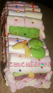 Tarta de Chuches Coche 18 años
