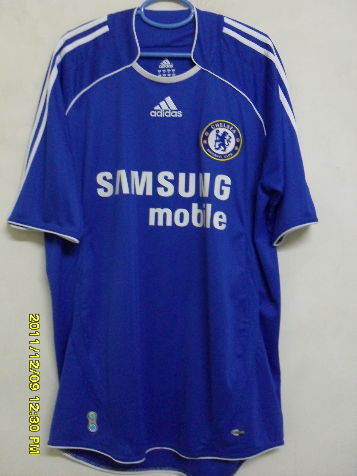 new product ea9af ebe41 My Football Jersey Collections: #19 Chelsea FC (Home, 2006 ...
