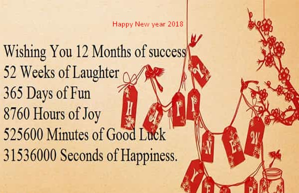 new year famous message