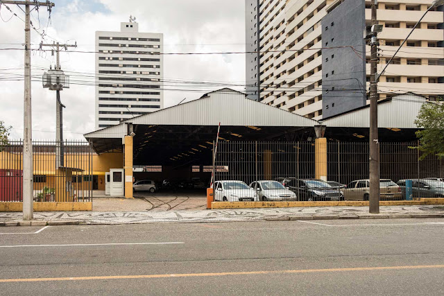 Garagem de bondes de Curitiba
