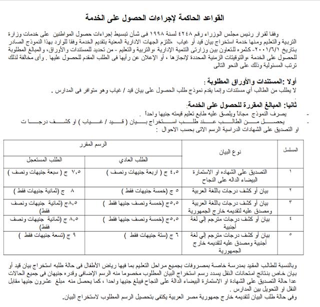 طلب استخراج بيان قيد أو غياب 2019 نموذج طلب استخراج بيان قيد أو غياب
