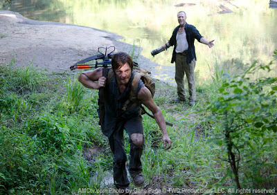 The Walking Dead - 3x10 - Daryl Dixon (Norman Reedus) e Merle Dixon (Michael Rooker)