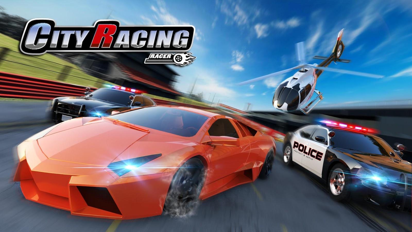 105ad409d تحميلل وتنزيل لعبة 3D City Racing لعبة السيارات الرئعة باخر اصدار مهكرة مال  غير محدود للاندوريد