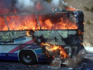 Bulgaria bus bombing last year